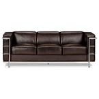 Fortress Sofa in Brown