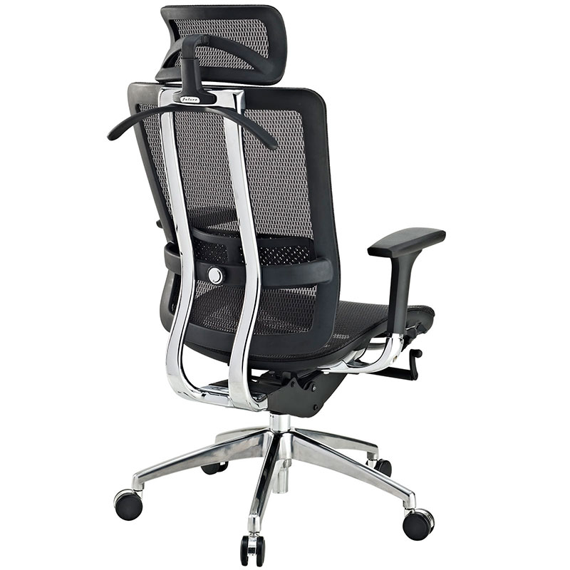 fortune executive office chair - back view