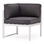 Girona Modern Outdoor Corner Chair
