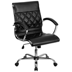 Gordon Low Back Office Chair in Black