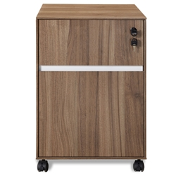 Gothenburg Mobile File in Walnut