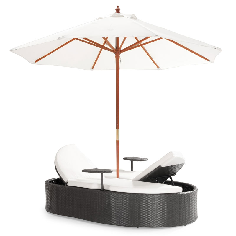 Harrison Outdoor Double Chaise Lounge