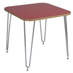 hanh activity table in red