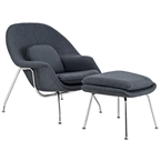 Icon Lounge Chair and Ottoman