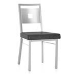 Jasper Dining Chair - Platina/Black