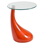 Juliet Side Table in Orange