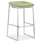 laval bar stool in green