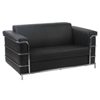 Lester Loveseat in Black