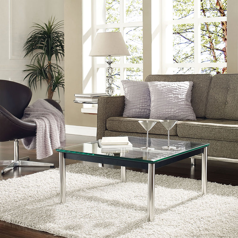 Levin 27 Inch Square Cocktail Table