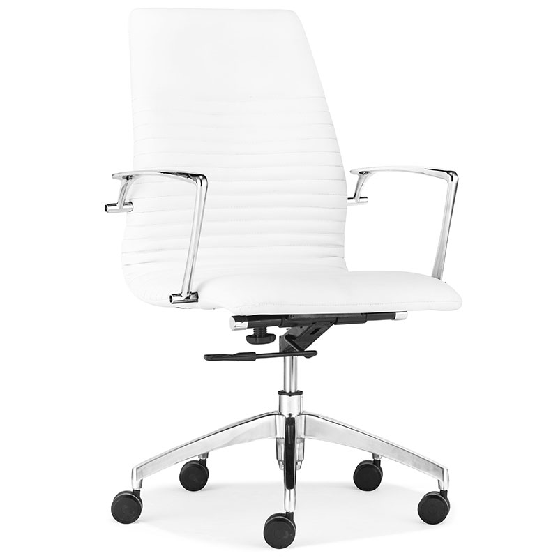 lisse low back modern office chair