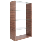 lloyd shelving unit in walnut