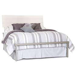 Louis Bed in Titanium and Eggshell