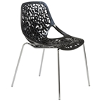 Leiden Dining Chair in Black