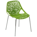 Leiden Dining Chair in Green