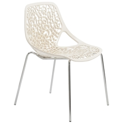 Leiden Modern Ivory Dining Chair