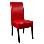 magic dining chair in red