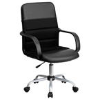 Marcus Mid Back Office Chair in Black