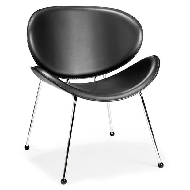 Match Chair Black- Front