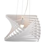 twist modern hanging lamp