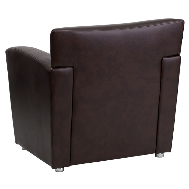 Modena Contemporary Reception Chair - Back View