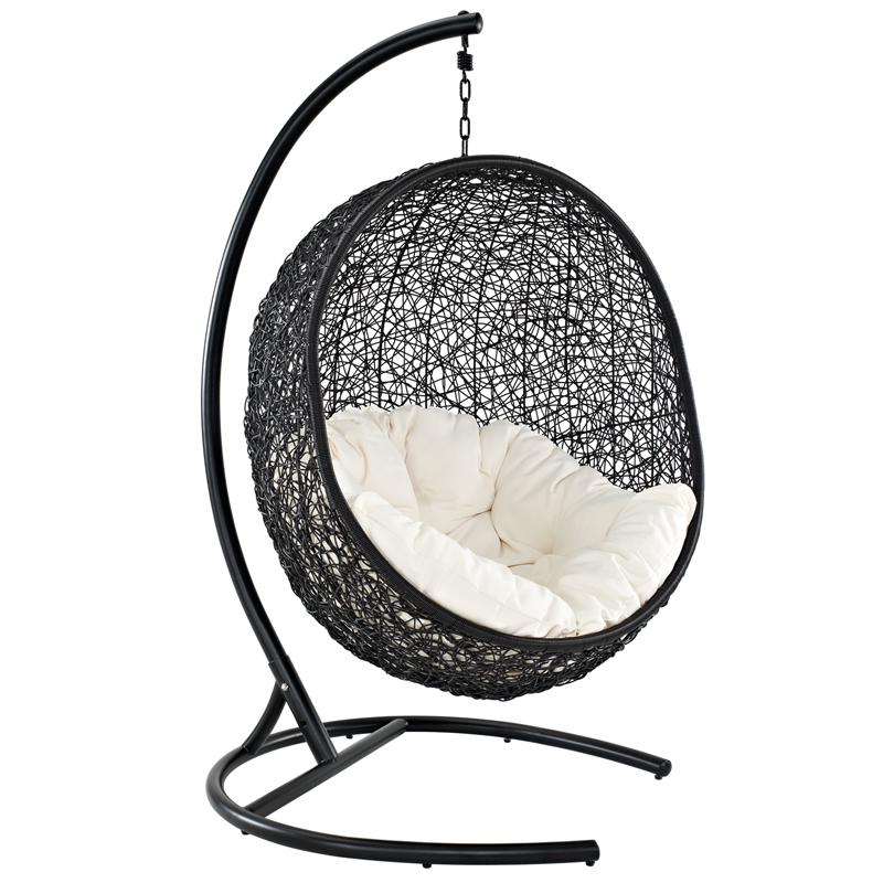 nest outdoor hanging chair | modern outdoor lounge chairs | eurway