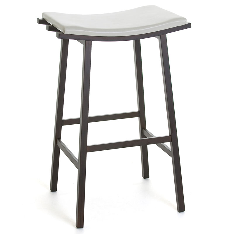 Novak Modern Backless Bar Stool
