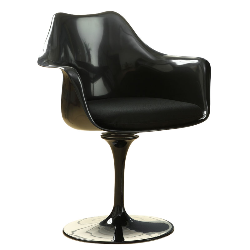 Odysey Black Modern Arm Chair