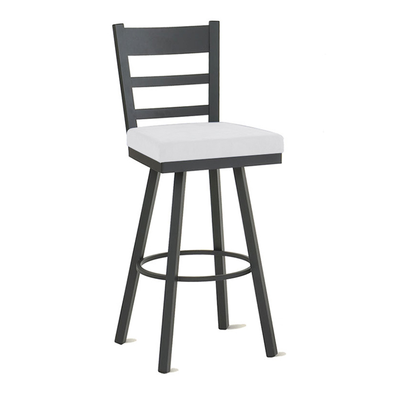 Osaka Counter Stool in Black Coral and Spark