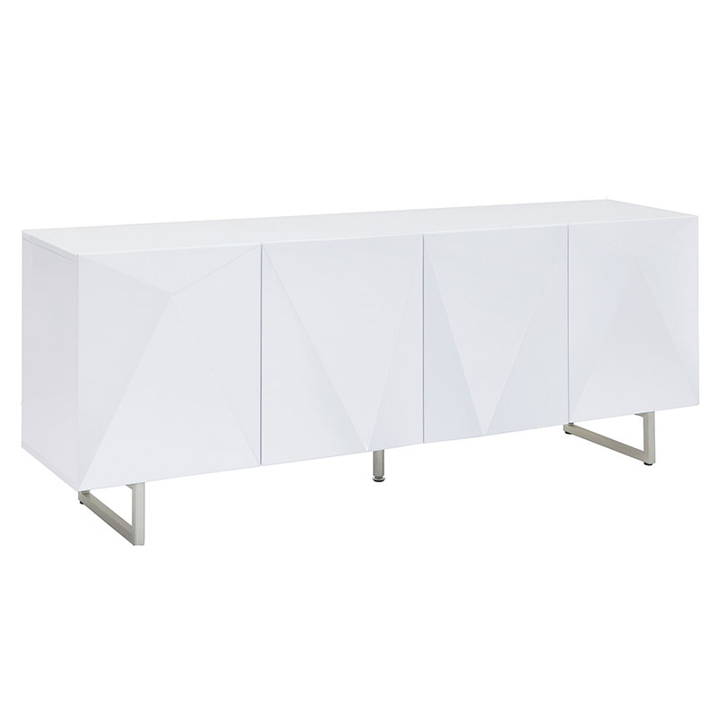 Patton Modern White Buffet