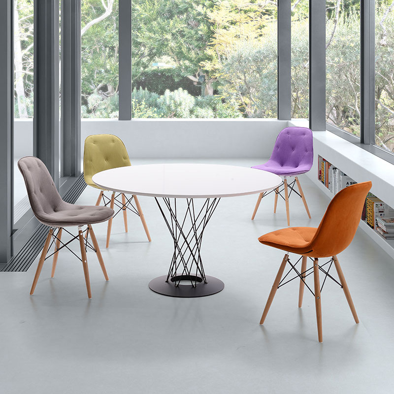 spokane dining table and pavia chairs