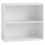 Perfecta Low Bookcase in White