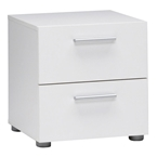 pescara nightstand in white