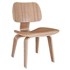 plywood dining chair natural