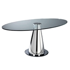 Procida Modern Oval Dining Table