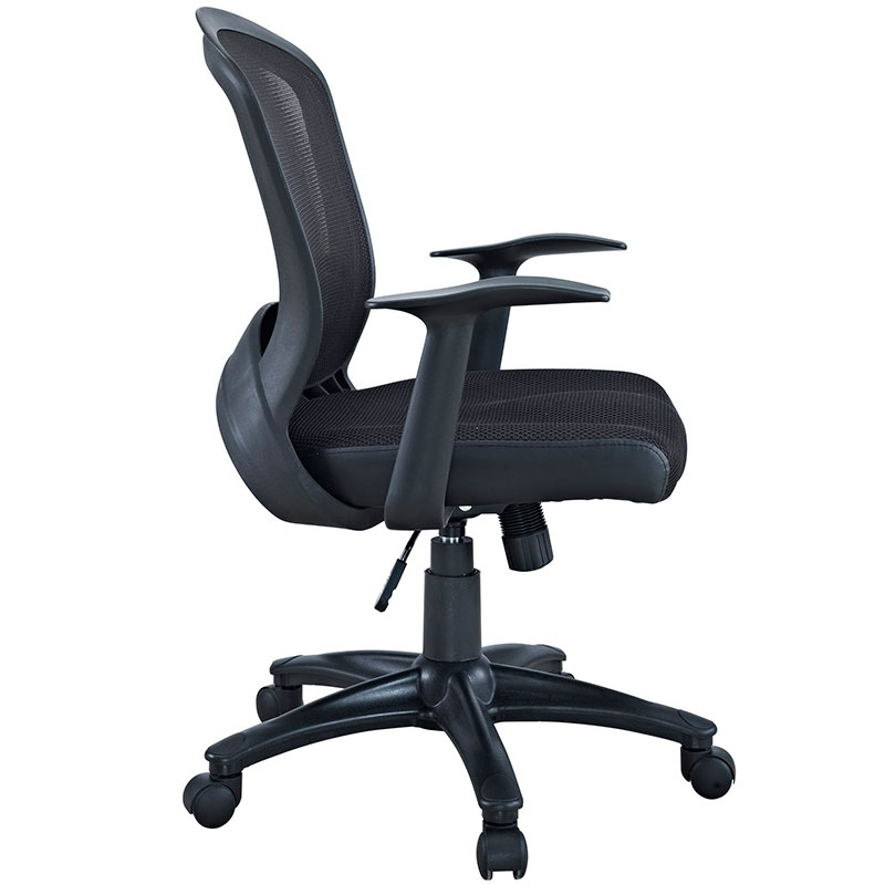Marcel Ergonomic Modern Office Chair - Side View