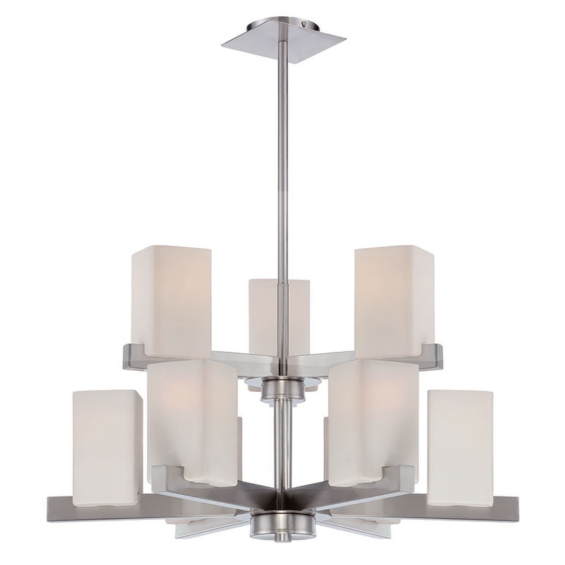 Randolph Modern 9-Light Chandelier