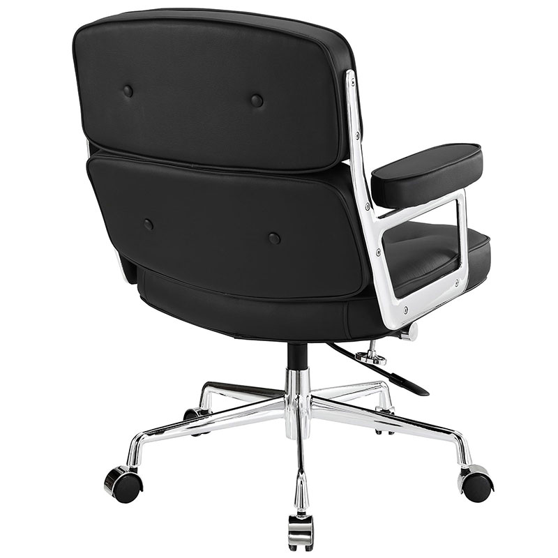 Retro Office Chair - Back View