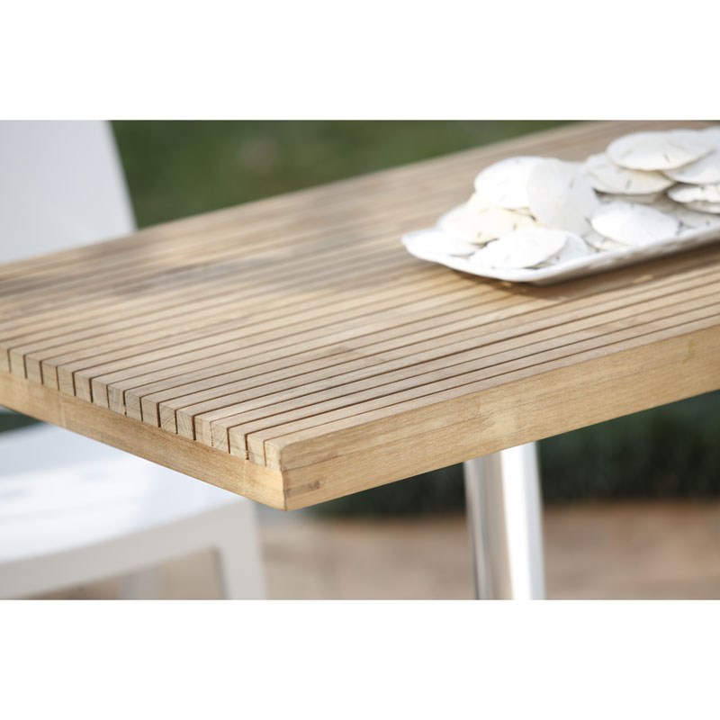Sadie Contemporary Outdoor Dining Table