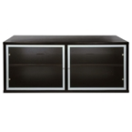 Skyline Small Espresso TV Stand