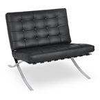 Sevilla Chair in Black Leather