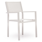 siena modern outdoor dining chair