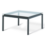 Spencer Dining Table in Black Coral