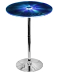 Spyra Bar Table in Blue