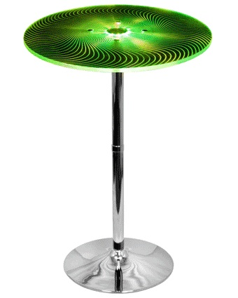 Susanna Modern Bar Table - Changing to Green