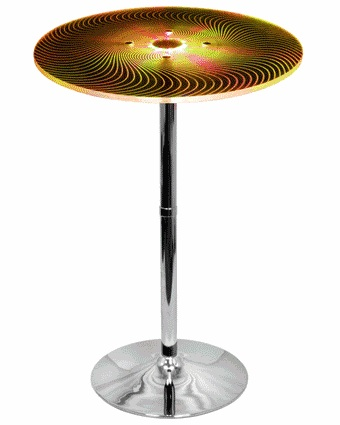 Susanna Modern Bar Table - Changing to Yellow