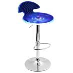 Spyra Bar Stool in Blue
