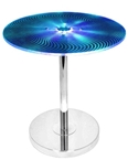 Spyra Side Table in Blue