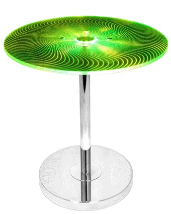 Susanna Modern Side Table - Changing to Green