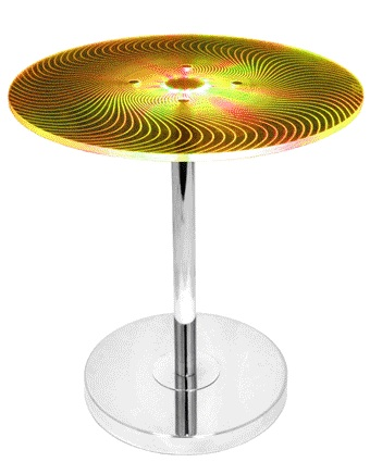 Susanna Modern Side Table - Changing to Yellow