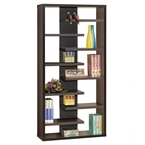 Staggered Contemporary Bookcase